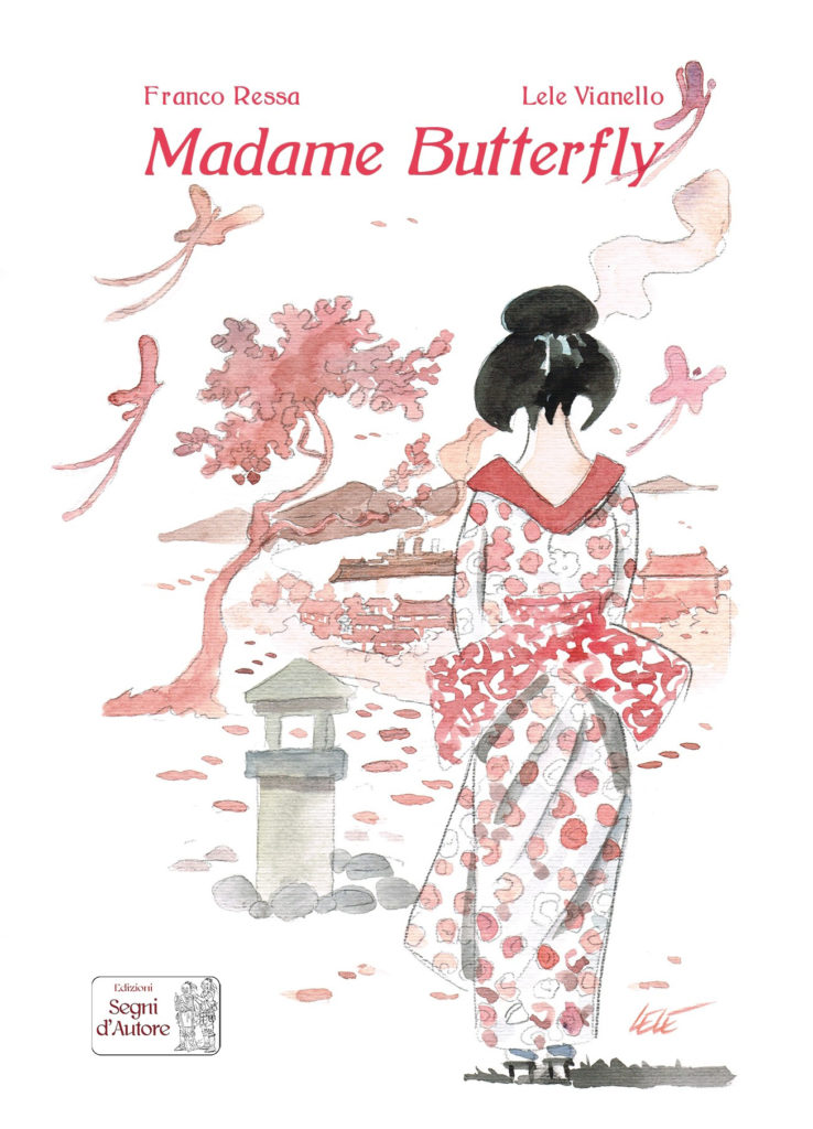 Madame Butterfly, copertina