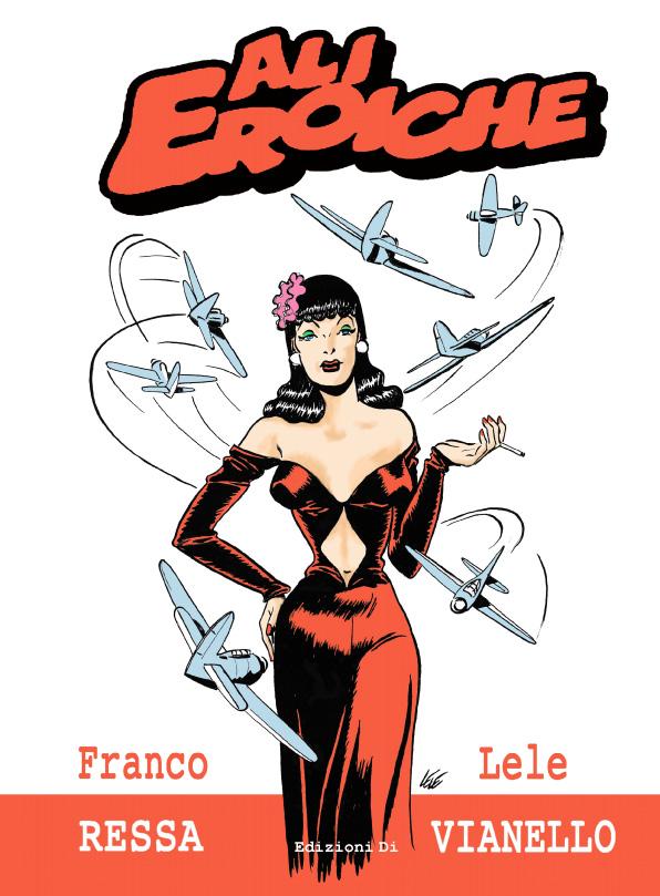 Ali Eroiche, copertina