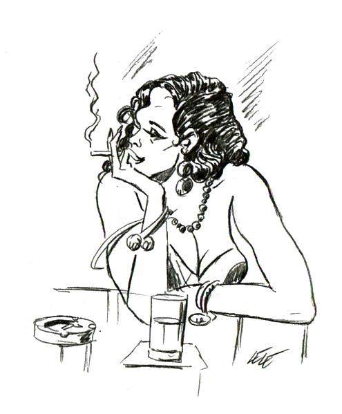 Cubana al bar