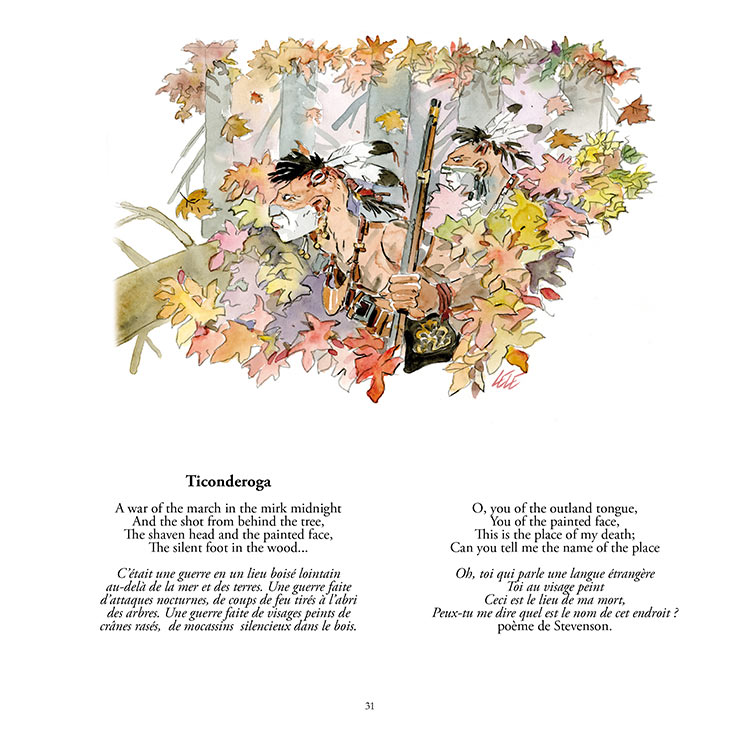 VINGT ANS APRÈS,Hommage à Hugo Pratt, illustrazione
