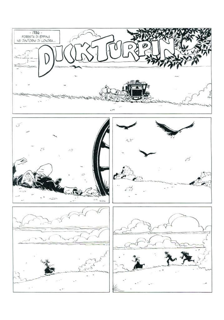 Dick Turpin, pagina