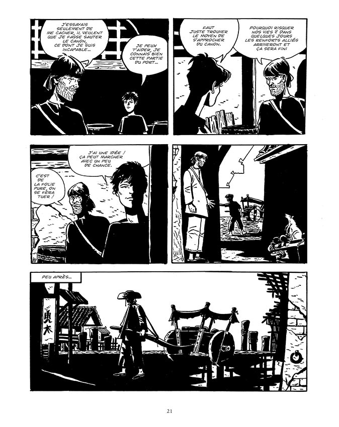 Le Fanfaron, pagine
