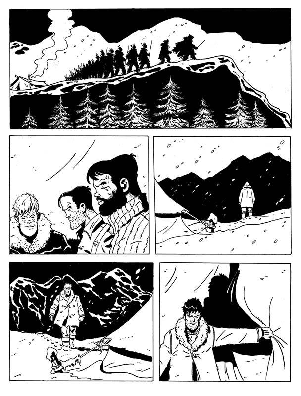 Gran Nord, pagina