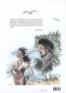 Cubana, retro copertina
