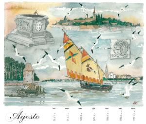 Il Lido, calendario 2014, agosto