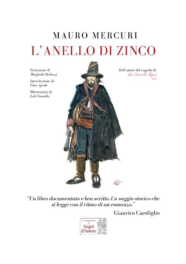 L'Anello di Zinco, copertina