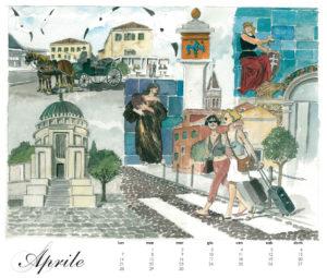 Il Lido, calendario 2014, aprile