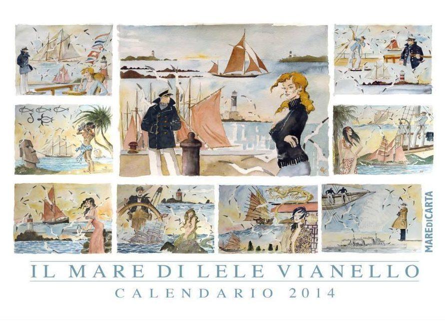 Calendario del Mare 2014, copertina