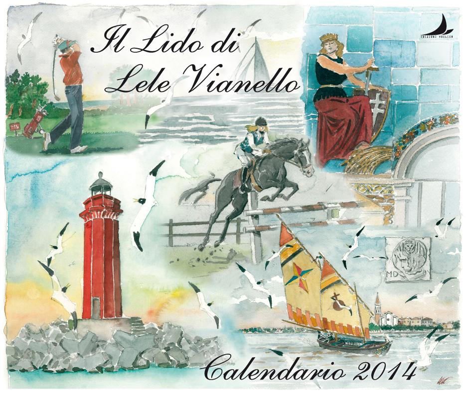 Il Lido, copertina calendario 2014