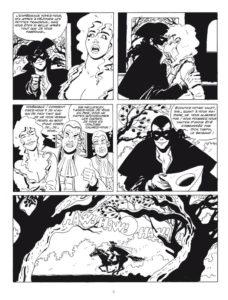 Dick Turpin, pagina fumetto