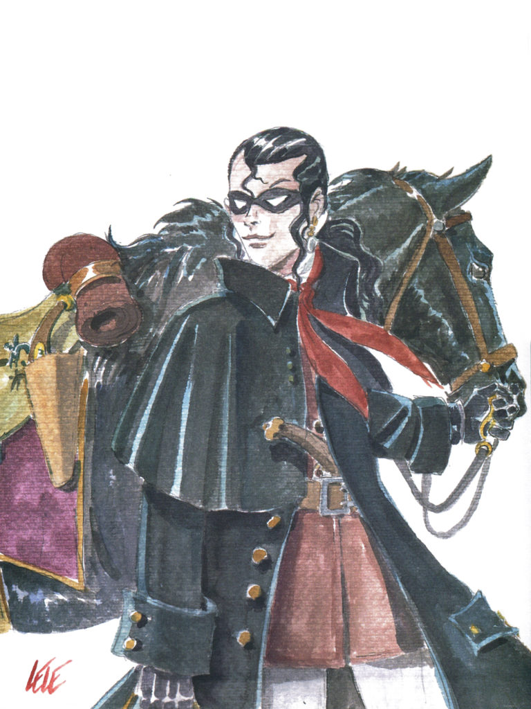 Dick Turpin, illustrazione