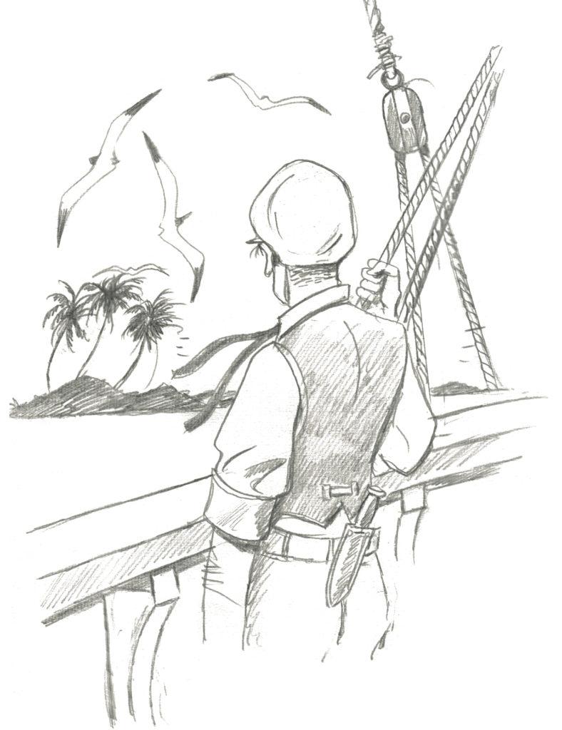Mari del sud, disegno