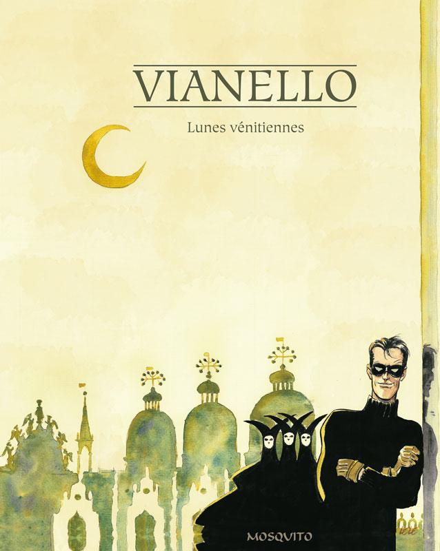 Lunes vénitiennes, copertina
