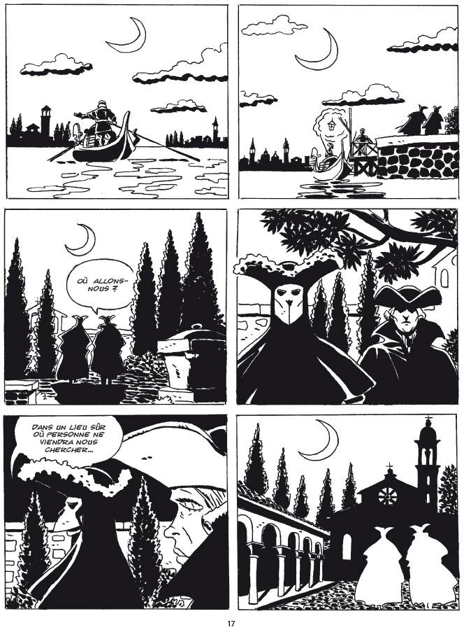 Lunes vénitiennes, pagina