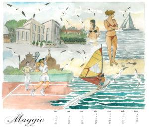 Il Lido, calendario 2014, maggio