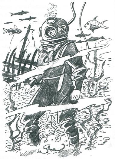 Cercando Venezia, illustrazione