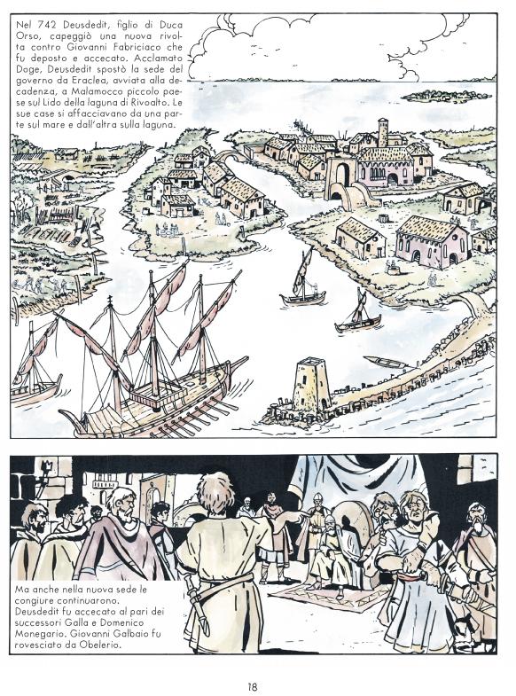 Venezia, una singolare avventura, pagina
