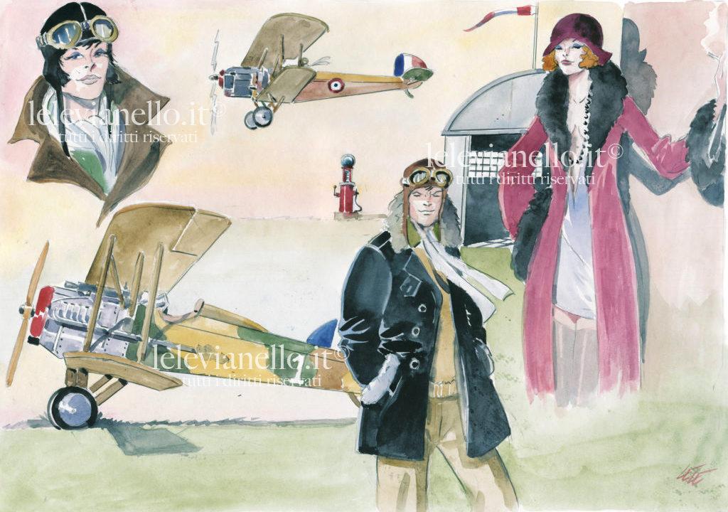 18. Ali Eroiche, donne volanti