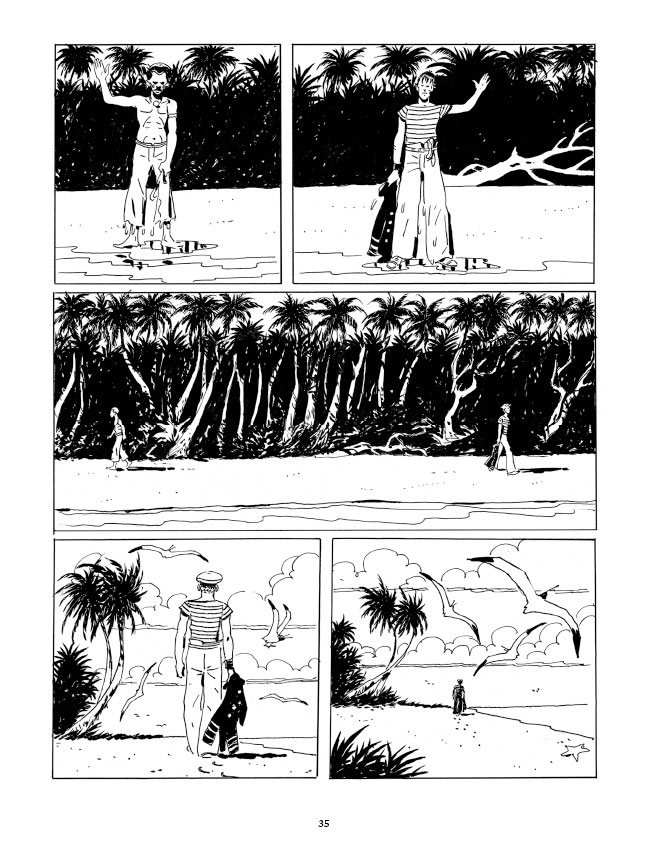 Une île lointaine, pagina 35