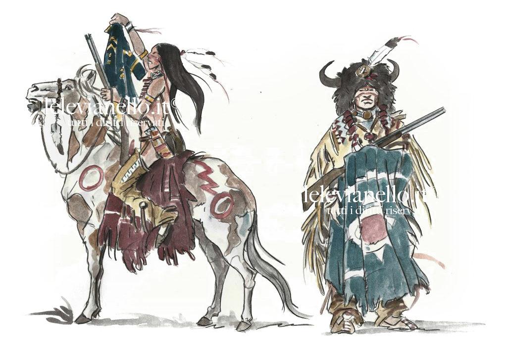 03. Abbigliamento guerrieri irochési