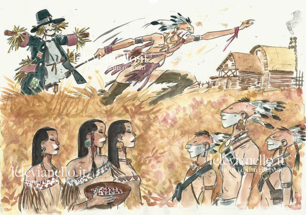 11. Tribù pellerossa, Spaventapasseri