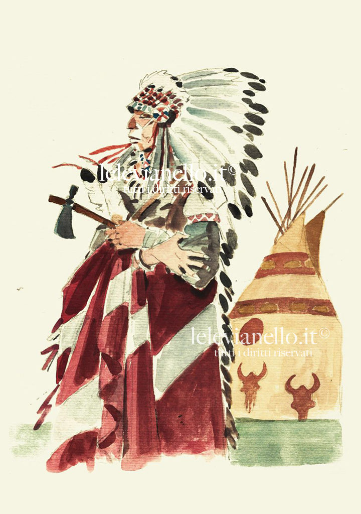 25. Capo indiano e tepee