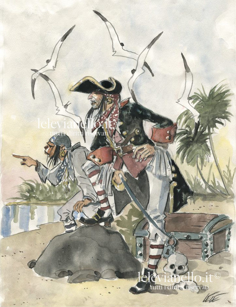 04. Isola del tesoro, Pirati