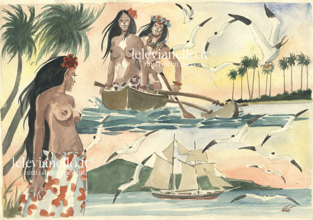 09. Le Polinesiane di Gauguin