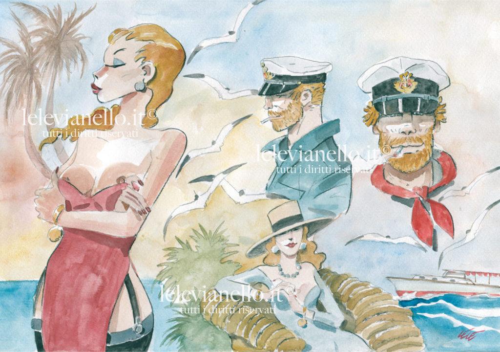 34. Cubana Personaggi, Svend e le donne