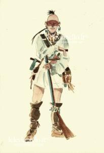 13. Mohawk con fucile