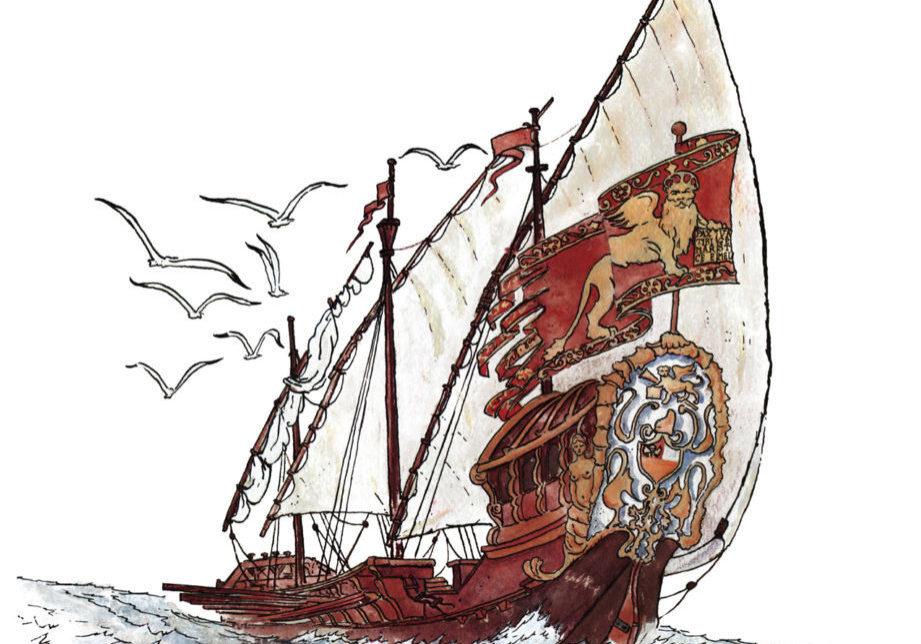 Venezia Singolare avventura (particolare copertina)