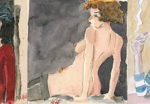 illustrazioni donne Vianello