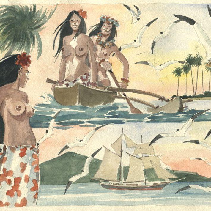 Le Polinesiane di Gauguin